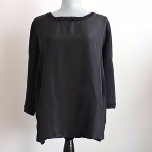 The Limited Black Dressy Blouse Small